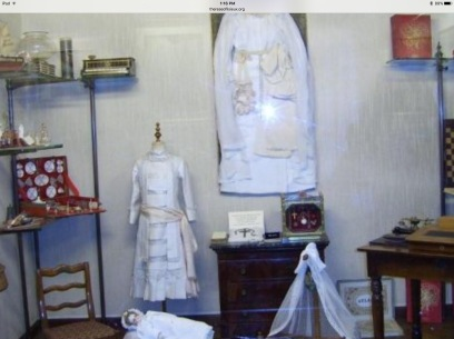 St. Therese' Room: First Communion and Confirmation Dresses
