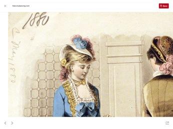 Victorian Era French Fashion Magazine
