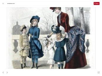 Victorian Era Children's Fashions