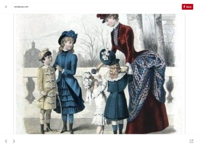 Victorian Era Children's Fashions