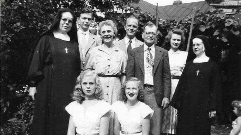 Born Family, Portsmouth, OH c. 1938
