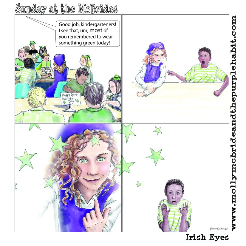 Molly McBride St. Pat's Day Comic