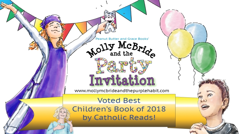 """Party Invitation"" vote best children's book of 2018"