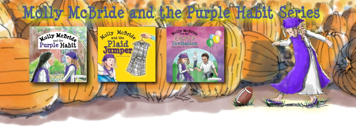 Collect all 3 books in the Molly McBride series! visit www.mollymcbrideandthepurplehabit.com