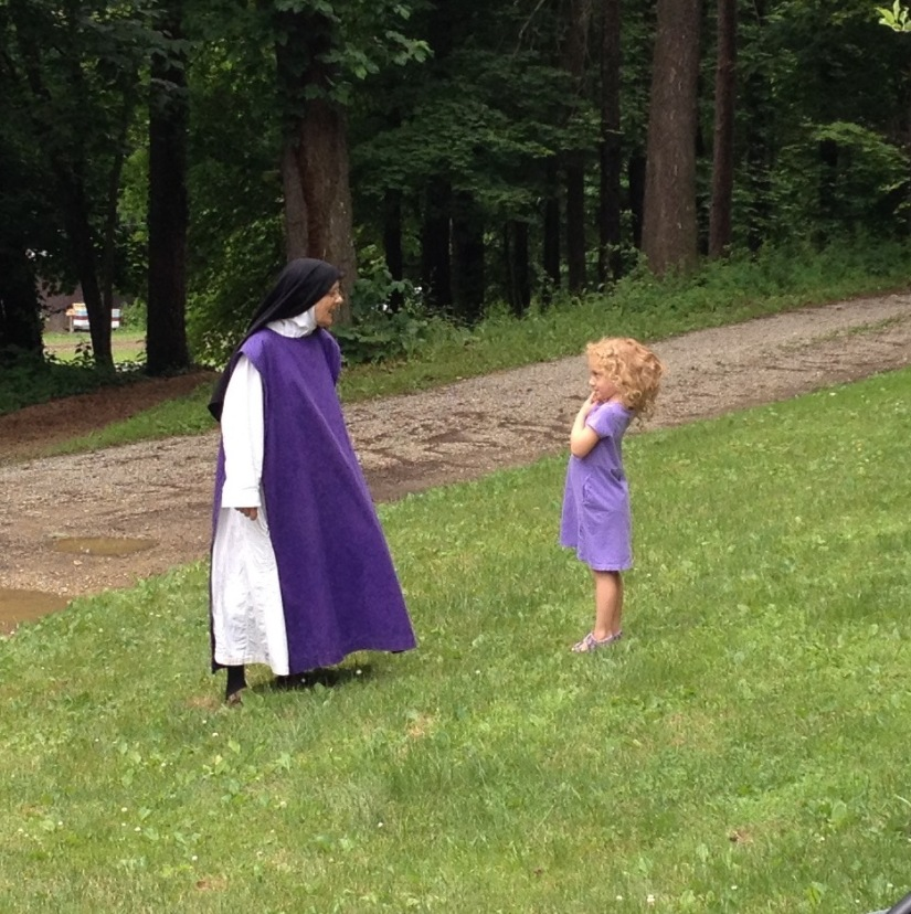 Purple Nun with Molly